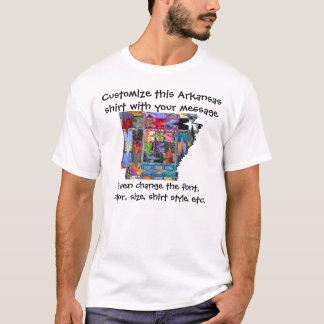 T-shirt Chemise de l'Arkansas - coutume avec l'élection ou