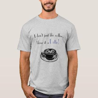 T-shirt Chemise de Latte !