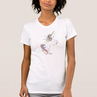 T-shirt Chemise de licorne d'arc-en-ciel