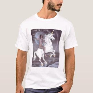 T-shirt Chemise de licorne de cavalier de licorne