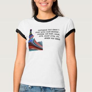 T-shirt Chemise de l'Idaho - coutume avec l'élection ou