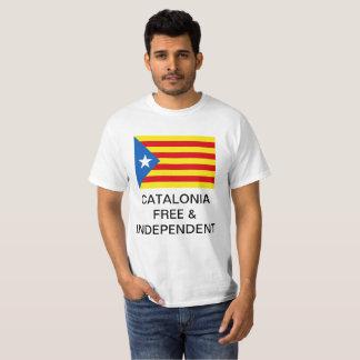 T-shirt Chemise de l'indépendance de la Catalogne