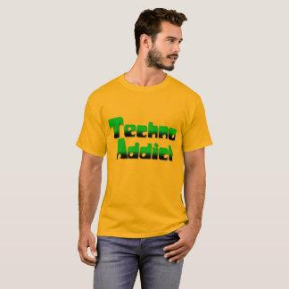 T-shirt Chemise de l'intoxiqué 2 de techno