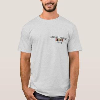 T-shirt Chemise de l'Irak de vétéran de combat