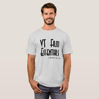T-shirt Chemise de logo (couleur claire, texte noir)