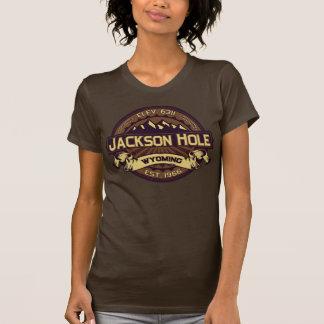 T-shirt Chemise de logo de couleur de Jackson Hole
