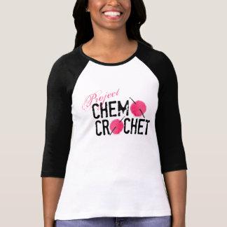 T-shirt Chemise de logo de crochet de chimio de projet