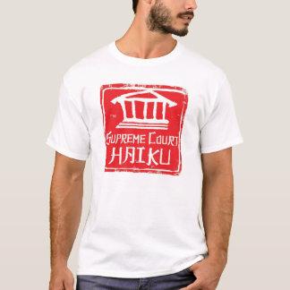 T-shirt Chemise de logo de Haiku de court suprême