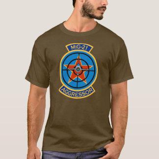 T-shirt Chemise de logo de l'agresseur MiG-21