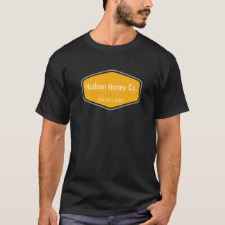 T-shirt Chemise de logo de miel du Hudson