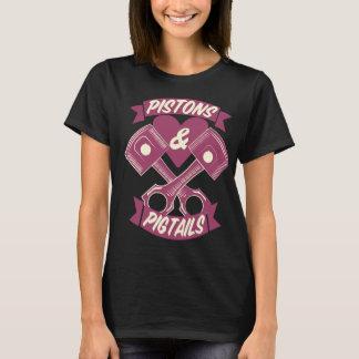 T-shirt Chemise de logo de pistons et de tresses
