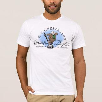 T-shirt Chemise de logo de poète et de prophète