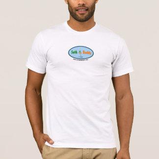 T-shirt Chemise de logo de Seth et d'ami