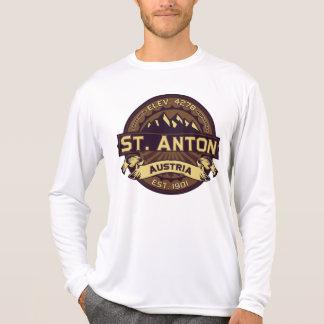 T-shirt Chemise de logo de St Anton