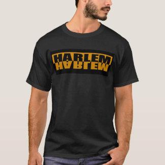 T-shirt Chemise de logo d'or de Harlem