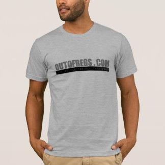 T-shirt chemise de logo d'OutOfRegs.com