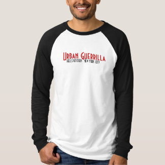 T-shirt Chemise de logo du guérillero des villes NYC