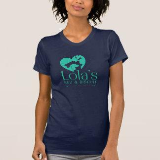 T-shirt Chemise de logo du LB&B des femmes