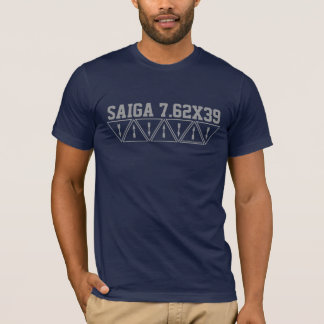 T-shirt Chemise de logo d'usine de Saiga