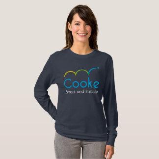 T-shirt Chemise de Long-Douille de Cooke des FEMMES,