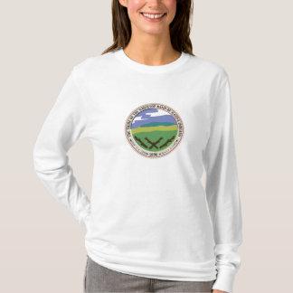 T-shirt Chemise de longsleeve de Whitetop de la femme
