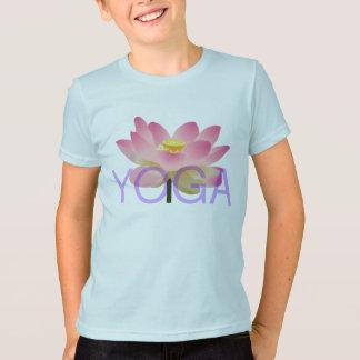 T-shirt chemise de lotus de yoga