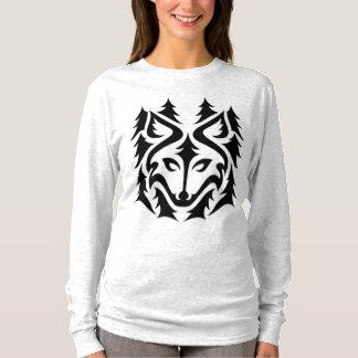 T-shirt Chemise de loup de forêt