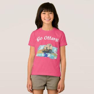 T-shirt Chemise de loutre pour Mme S