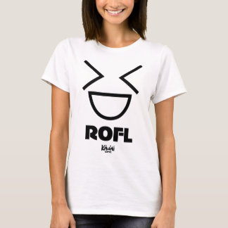 T-shirt Chemise de l'usage ROFL de canneberge