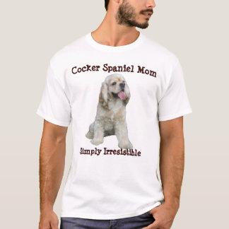 T-shirt Chemise de maman de cocker