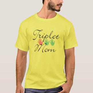 T-shirt chemise de maman de triplet
