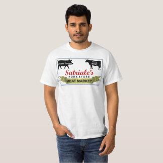 T-shirt Chemise de marché de la viande de Satriale révisée