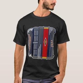 T-shirt Chemise de Melodeon de criminels de novembre