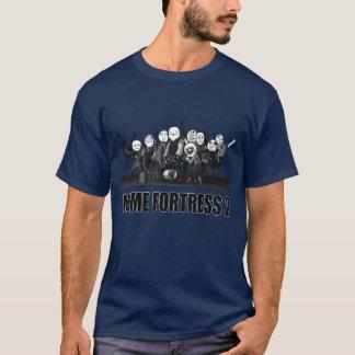 T-shirt Chemise de Meme d'équipe de bleu de la forteresse
