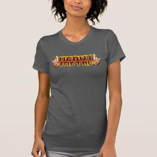 T-shirt Chemise de métaux lourds de klaxons du feu de S de
