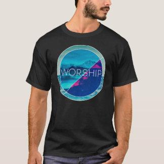 T-shirt Chemise de militaire de carrière de culte