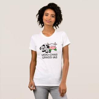 T-shirt Chemise de MOO-chas Herbe-IAS (Muchas Gracias)