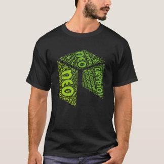T-shirt Chemise de mot de Blockchain de NÉO- révolution