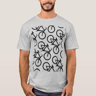 T-shirt Chemise de motif de vélo
