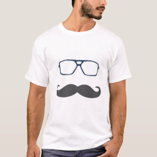 T-shirt Chemise de moustache