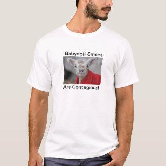 T-shirt Chemise de moutons de Babydoll - DÉCHIRURE Ramses