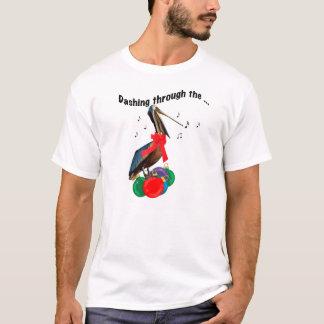 T-shirt Chemise de Noël avec le pélican de chant
