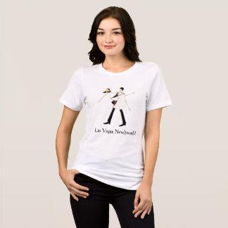 T-shirt Chemise de nouveaux mariés de Las Vegas (jeune