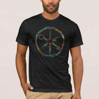 T-shirt Chemise de nuage de mot de MCPA
