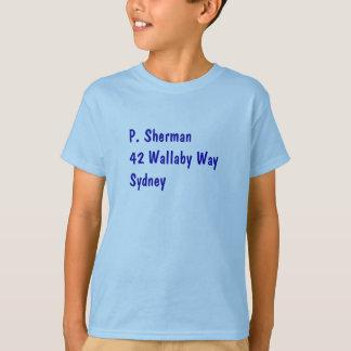 T-shirt Chemise de P. Sherman Nemo