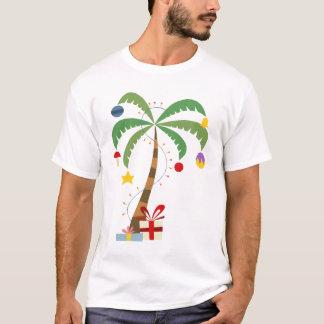 T-shirt Chemise de palmier de Noël