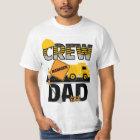 T-shirt Chemise de papa de construction, chemise