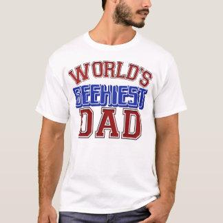 T-shirt Chemise de papa de Geekiest du monde