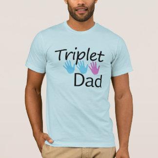 T-shirt chemise de papa de triplet