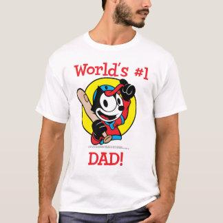 T-shirt Chemise de papa du #1 du monde de Felix